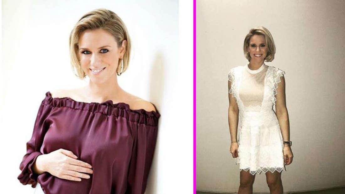 RTL-Explosiv-Moderatorin Sandra Kuhn ist im sechsten Monat schwanger und hat eine Nachricht an die Fans.