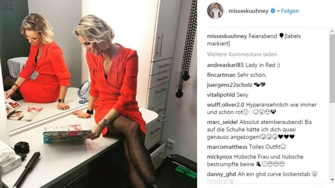 Sandra Kuhn, die viele Deutsche von RTL-Explosiv kennen, ist schwanger. Das bestätigte die gebürtige Düsseldorferin am Donnerstag offiziell auf ihrem Instagram-Account.