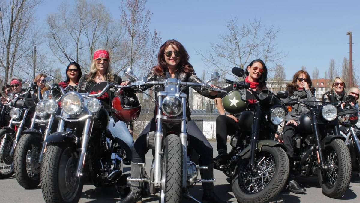 Motorrad Frauen Treffen -