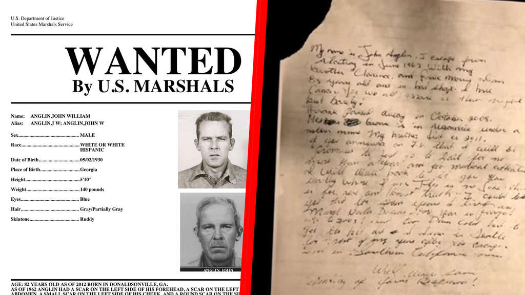 &#39Wanted&#39 posters issued by the US Marshals of fugitives Frank Mor