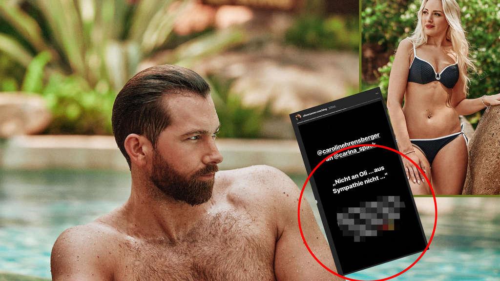 Bachelor In Paradise Carolin Ehrensberger Wirft Oliver Aus Der