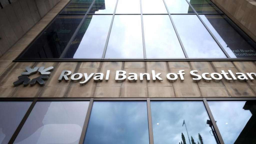 Die Filiale der Royal Bank of Scotland in der Princes Street in Edinburgh. Foto: Jane Barlow/PA Wire