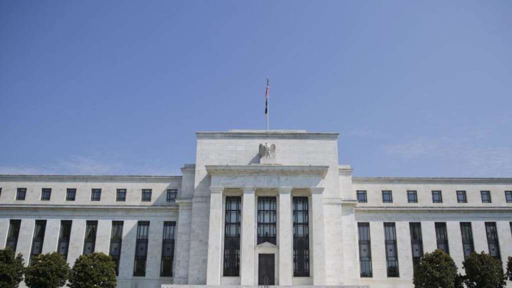 Die US-Notenbank Federal Reserve (Fed) in Washington. Foto: Pablo Martinez Monsivais/AP
