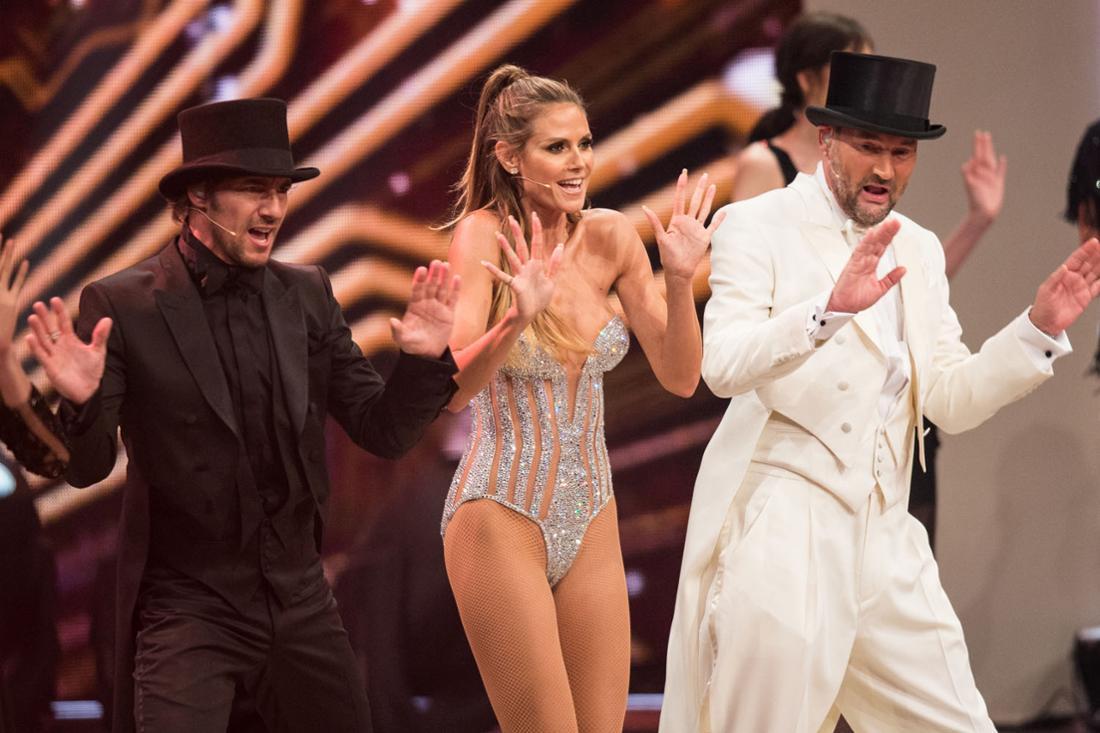 Germany's Next Topmodel - Finale in Oberhausen: Heidi zeigt sich sexy im Body.