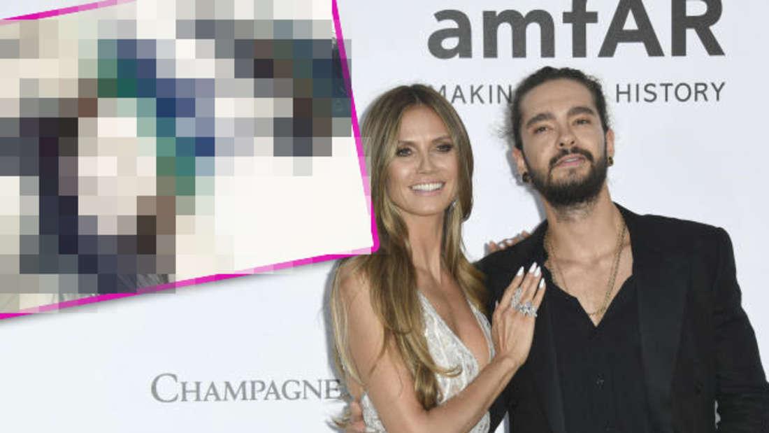 Heidi Klum und Tom Kaulitz kamen zusammen zur amfAR-Benefiz-Veranstaltung. Ein neues Instagram Bild der beiden sorgt für Aufsehen.
