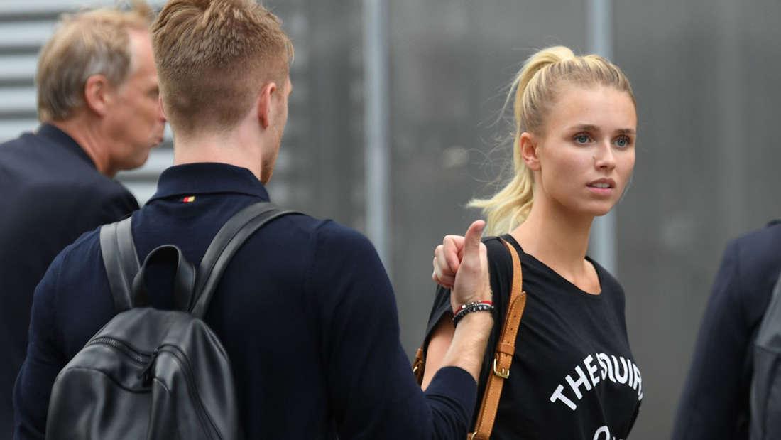 Diese Spielerfrau saß mit im Flieger: Scarlett Gartmann, die Freundin von Marco Reus.
