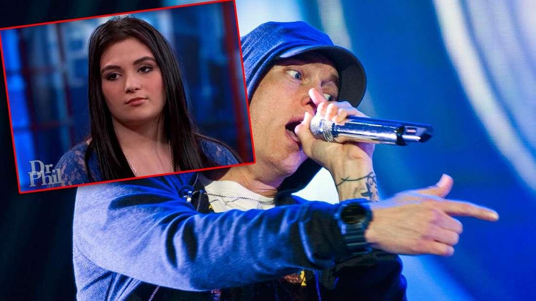 """20-Jährige behauptet:""""Eminem ist mein Vater!"""" - und sie hat sogar einen eindeutigen Beweis"""
