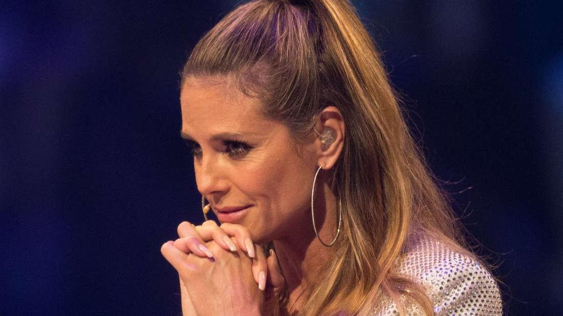 Seit ein paar Wochen schwer in Tom Kaulitz verliebt: Model-Mama Heidi Klum.