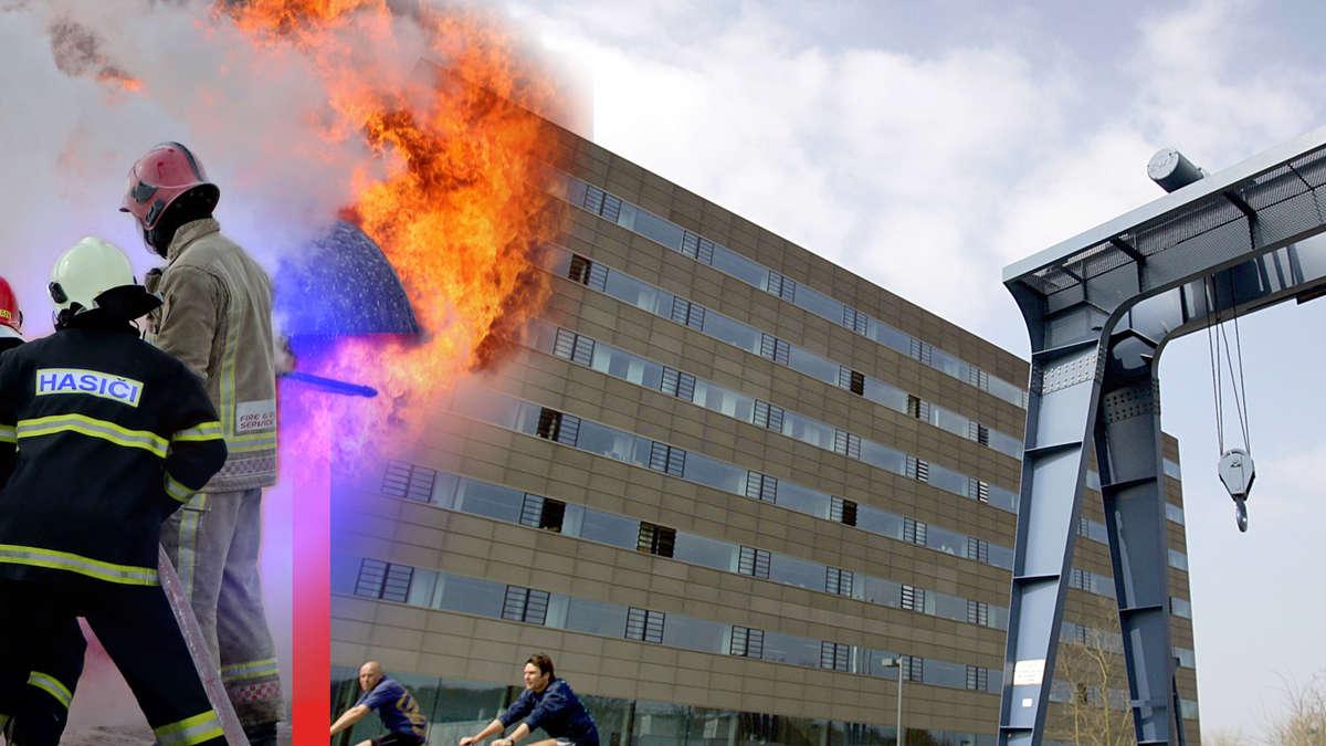 Feuer In Darmstadt