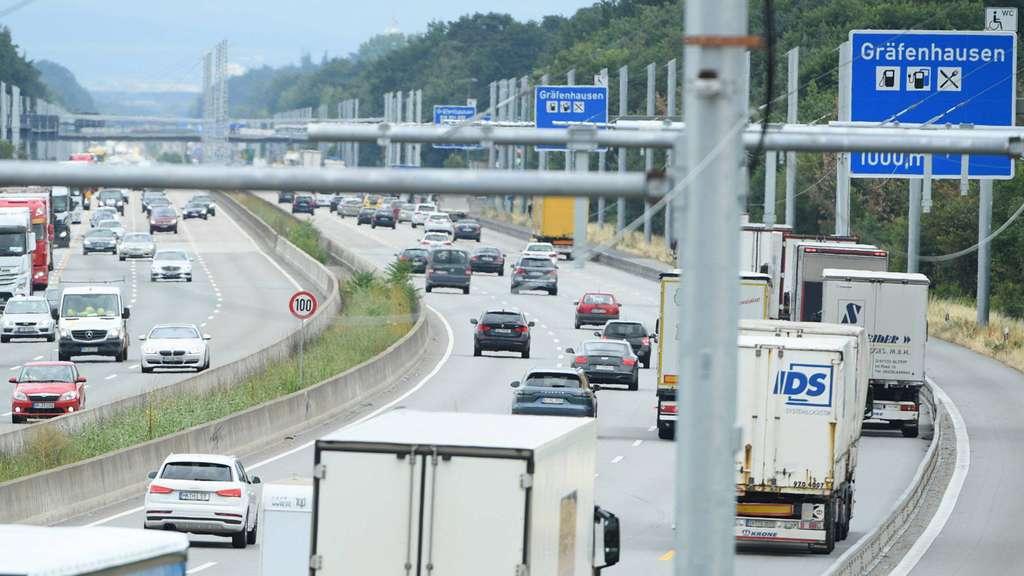 Verkehr A5 Hessen