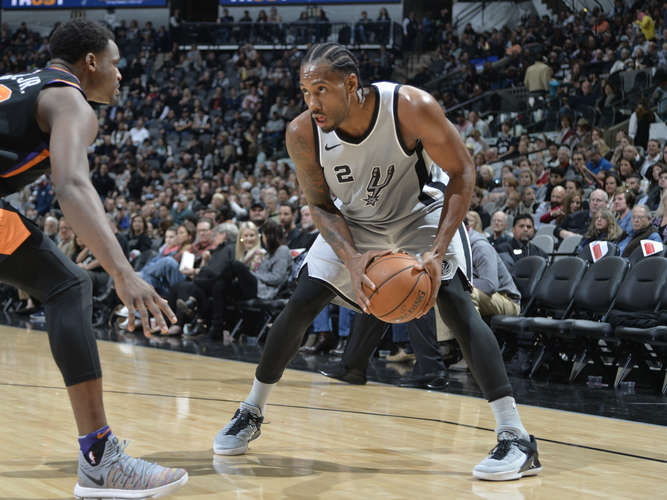 Blockbuster-Trade: NBA-Star Kawhi Leonard verlässt die San Antonio Spurs