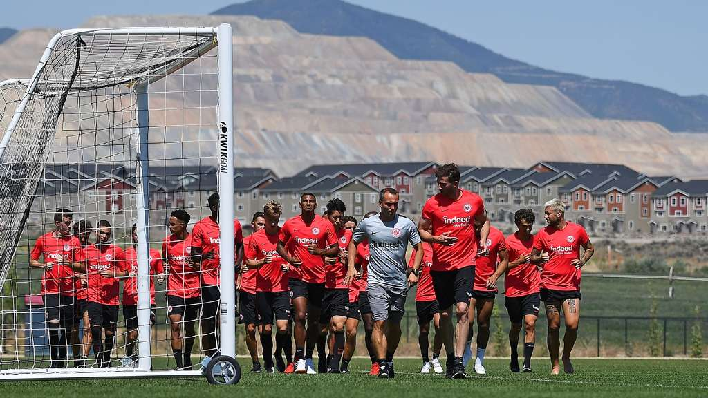 Fussball 1.Bundesliga, Eintracht Frankfurt Trainingslager in Salt Lake City