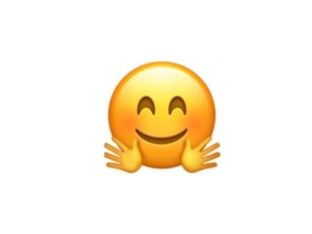 smiley drück dich
