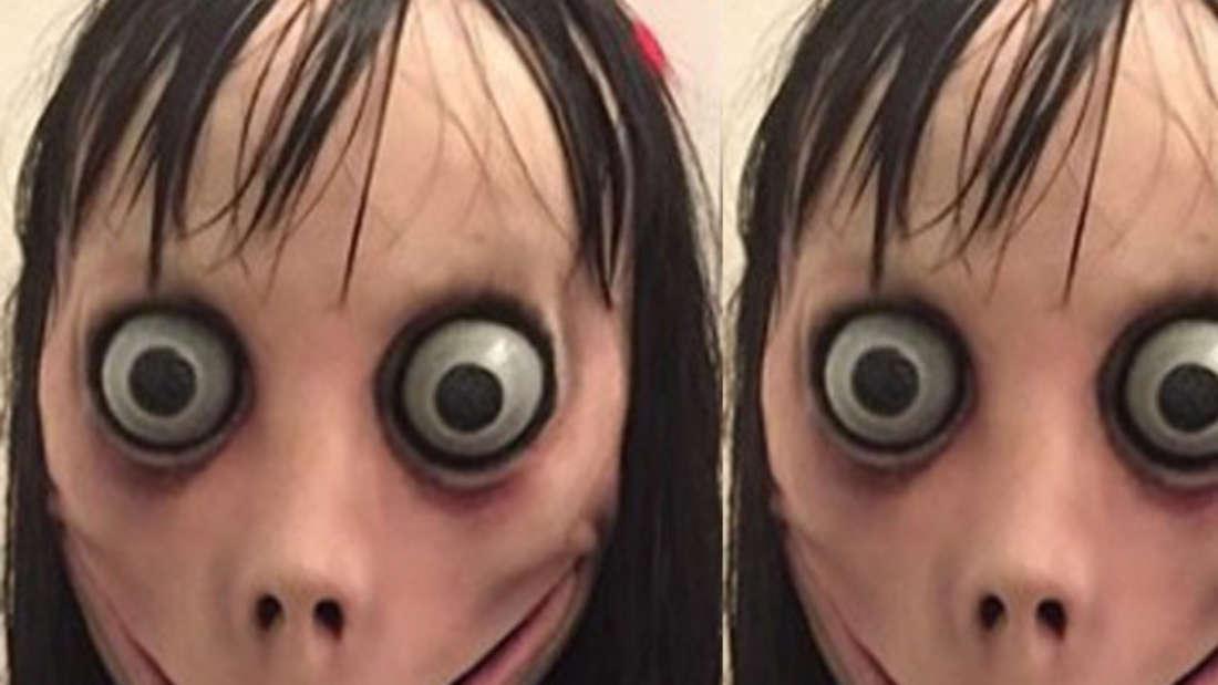 So sieht die Horror-Figur bei Whatsapp aus: Das ist Momo.