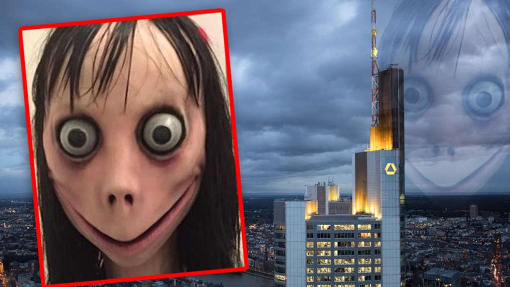 Whatsapp Horror Momo Grusel Figur Jetzt Schon In Frankfurt