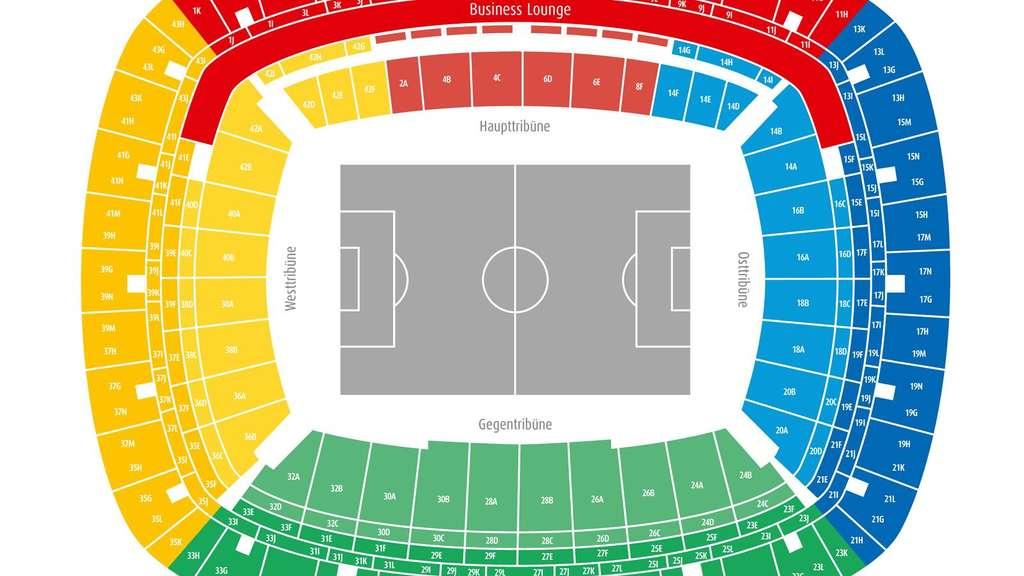 Commerzbank Arena Sitzplätze