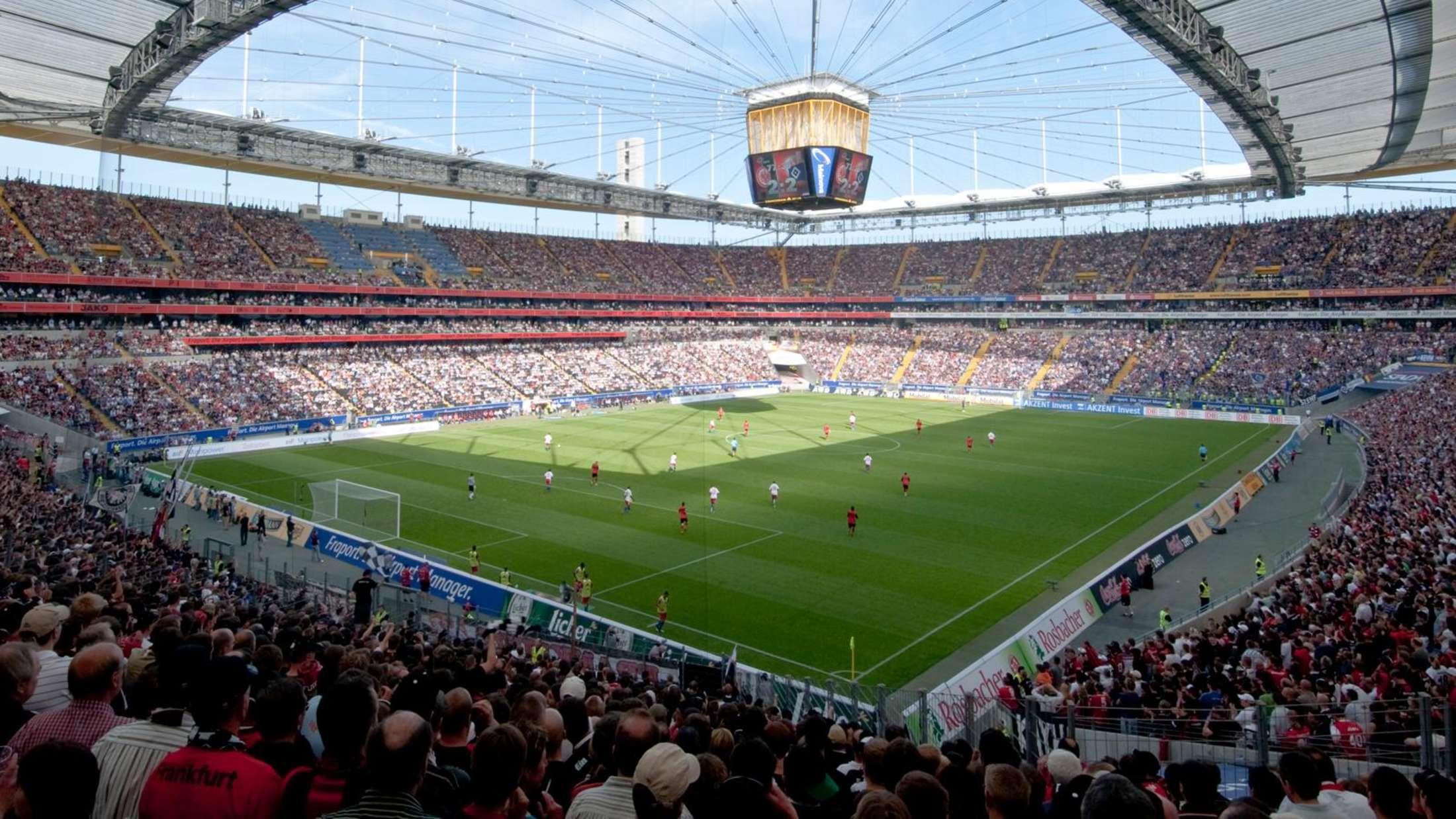 Parken Commerzbank Arena Frankfurt