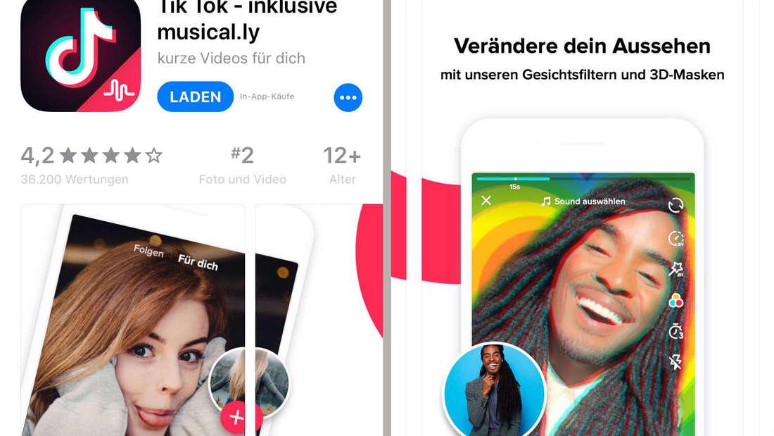 Seit dem 2.August 2018 ist Musically verschwunden. Die App heißt jetzt Tik Tok.