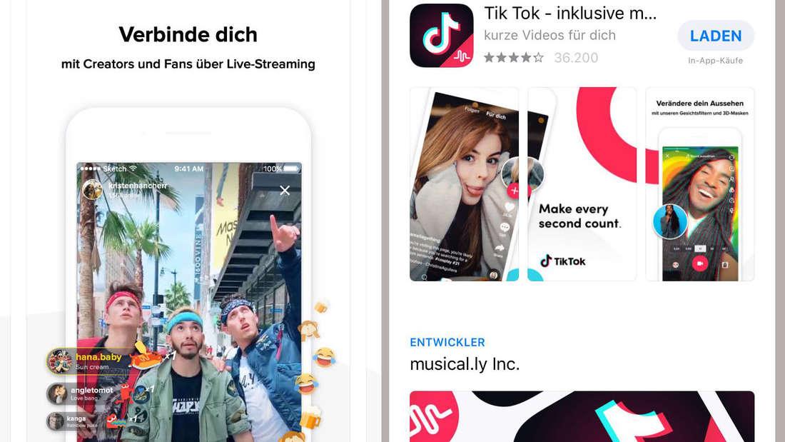 Ein Erfolgsfaktor von Tik Tok ist der jugendliche Stil der App mit Effekten, Filtern, Stickern und allerlei Zusatzfunktionen.