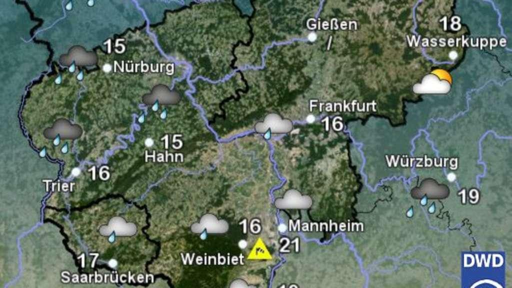 Wetter Frankfurt Montag