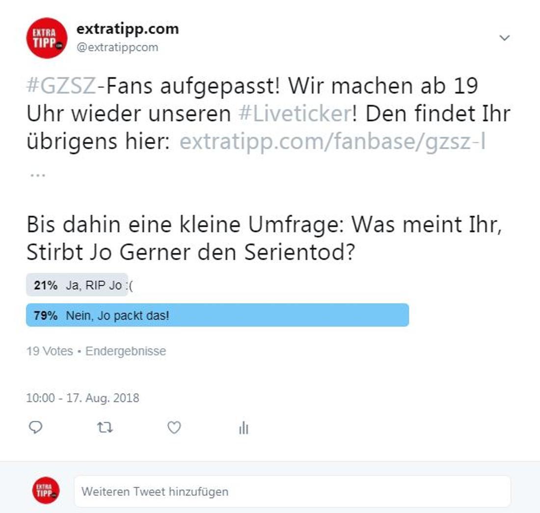 Die Twitter-User sind sich einig: Jo Gerner packt das noch!