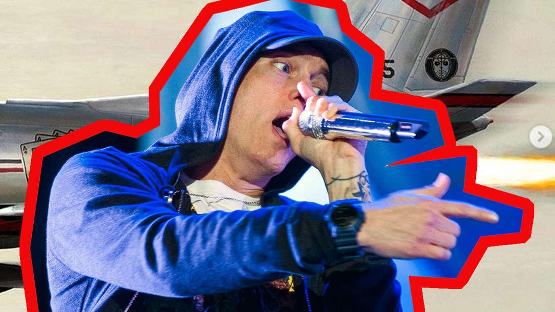 Eminem hat überraschend ein neues Album auf den Markt geworfen. Auf der Platte rechnet er mit seinen Hatern ab.
