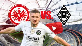 Borussia Mönchengladbach - Eintracht Frankfurt ⚽ heute live im TV und im  Livestream | #Eintracht