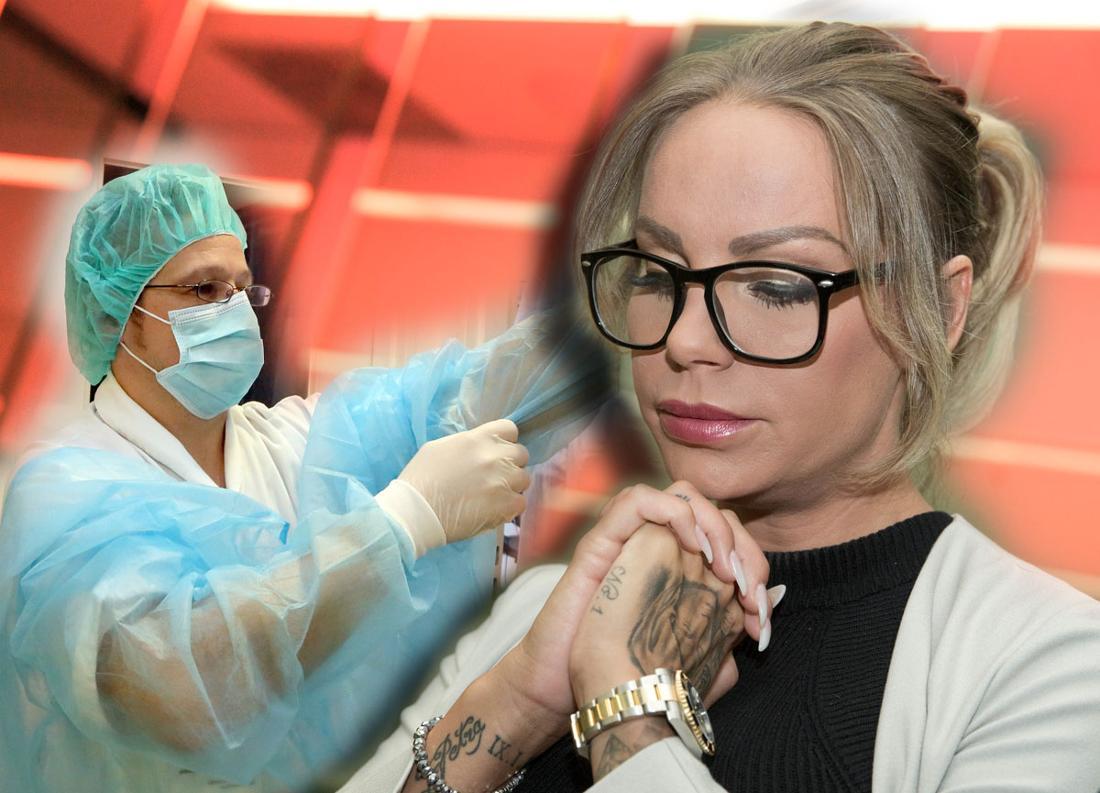 TV-Sternchen Gina-Lisa Lohfink (32) muss sich nach Angaben ihres Managements wegen «einer sehr schweren Lungenentzündung» schonen.