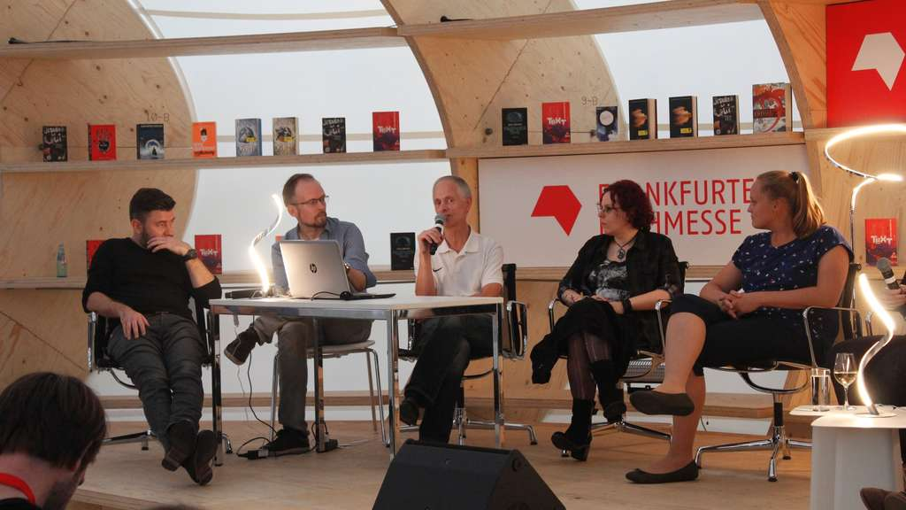 "Erste Science-Fiction-Lounge ""Think Ursula"" auf der Buchmesse"