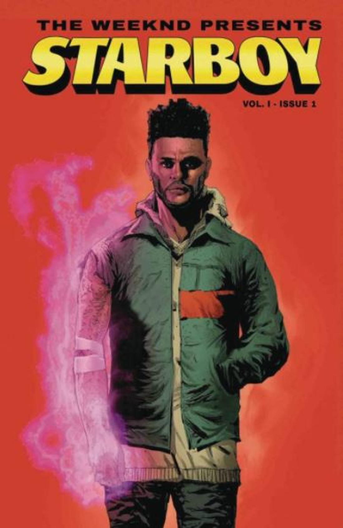 "So sieht das Cover des Comicbuches ""Starboy"" aus."