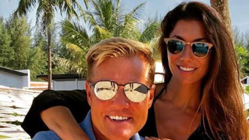 Dieter Bohlen Und Freundin Carina Feuchtes Video Aus Badewanne