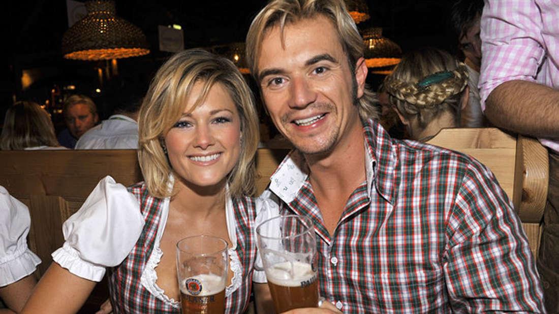 Junges Glück: Auf dem Foto waren Helene Fischer und Florian Silbereisen etwa ein Jahr zusammen.