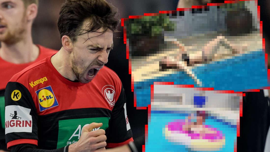 Handball-WM 2019: Heiße Fotos von scharfer Spielerfrau im Netz aufgetaucht
