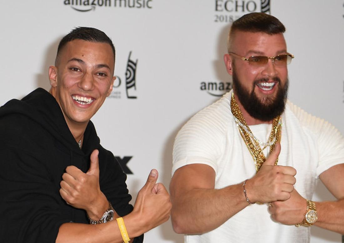 Umstritten: Gangsta-Rapper Farid Bang (links) mit Partner Kollegah.