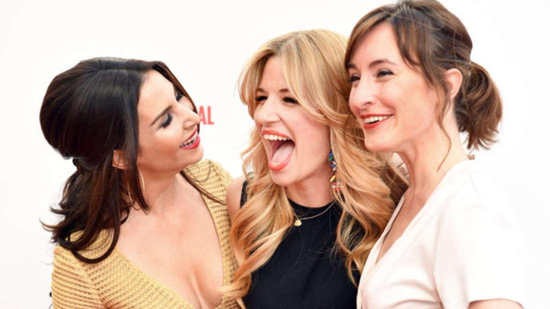 Dreimal GZSZ: Sila Sahin,Susan Sideropoulos und Maike von Bremen (von links) haben alle bei dem RTL-Format mitgespielt.