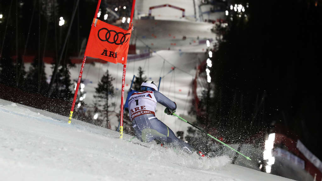 Henrik Kristoffersen gewinnt in Are WM-Gold.