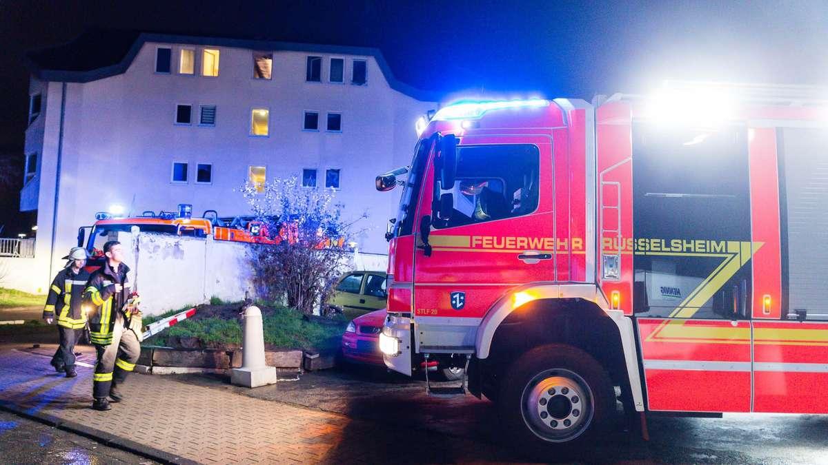 Feuer In Rüsselsheim