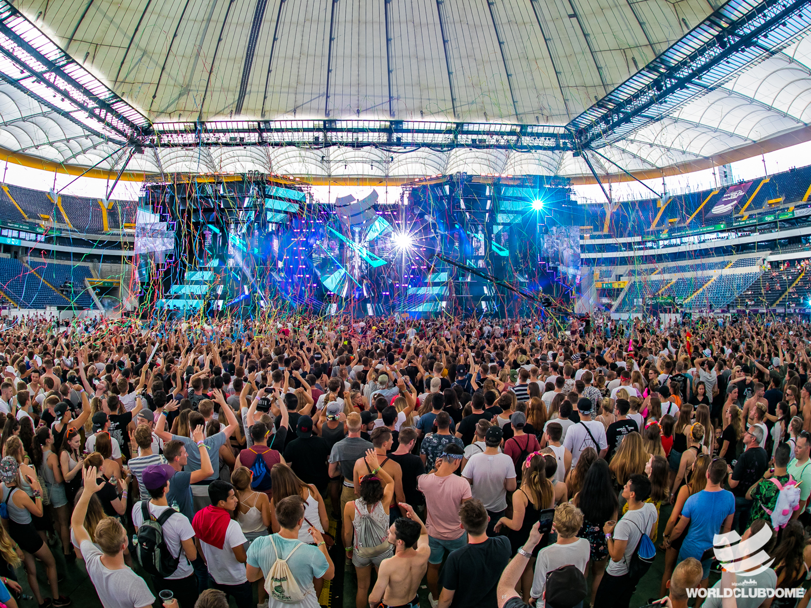 World Club Dome Besucher