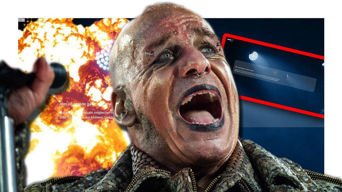 Rammstein-Desaster beim Start des Kartenvorverkaufs für Tour 2020 - Fans stocksauer