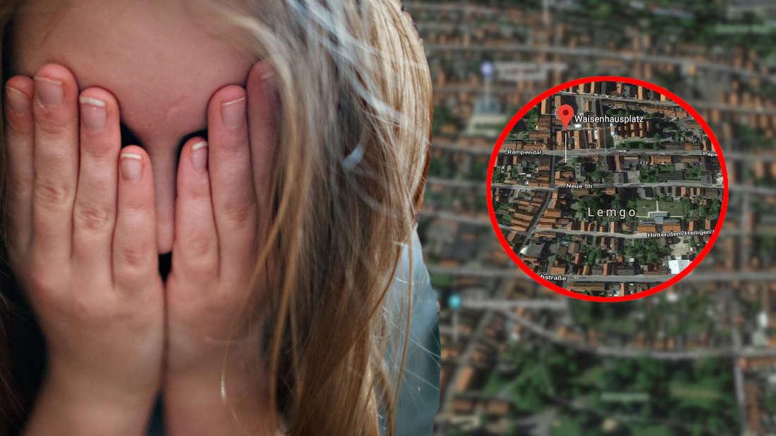 Eine Maedchen wurde in Lemgo von einem Unbekannten belaestigt.