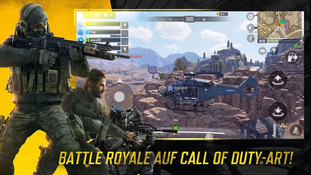Battle Royale Modus in Call of Duty Mobile