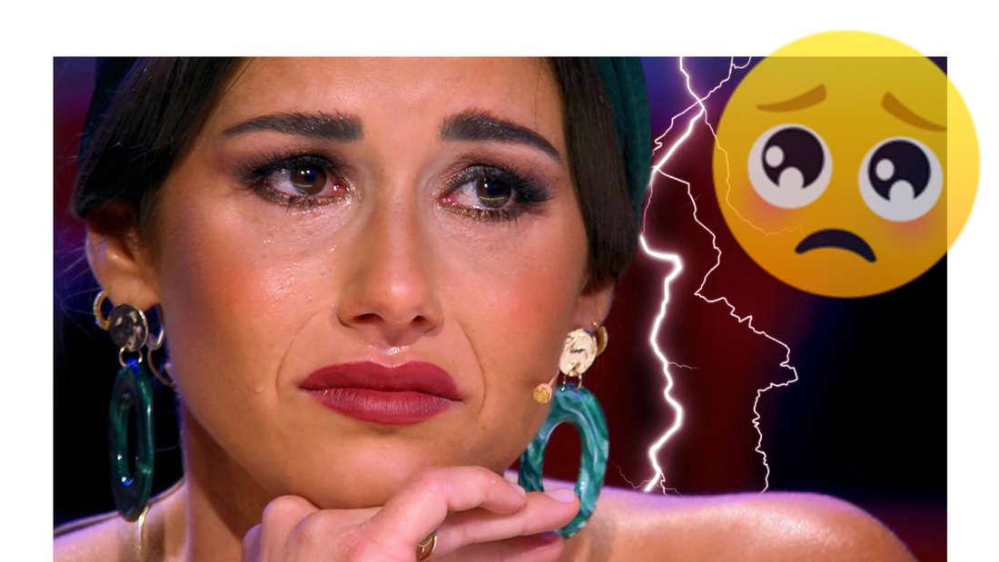 """""""Das Supertalent""""-Drama: Sarah Lombardi bricht auf RTL plötzlich in Tränen aus"""