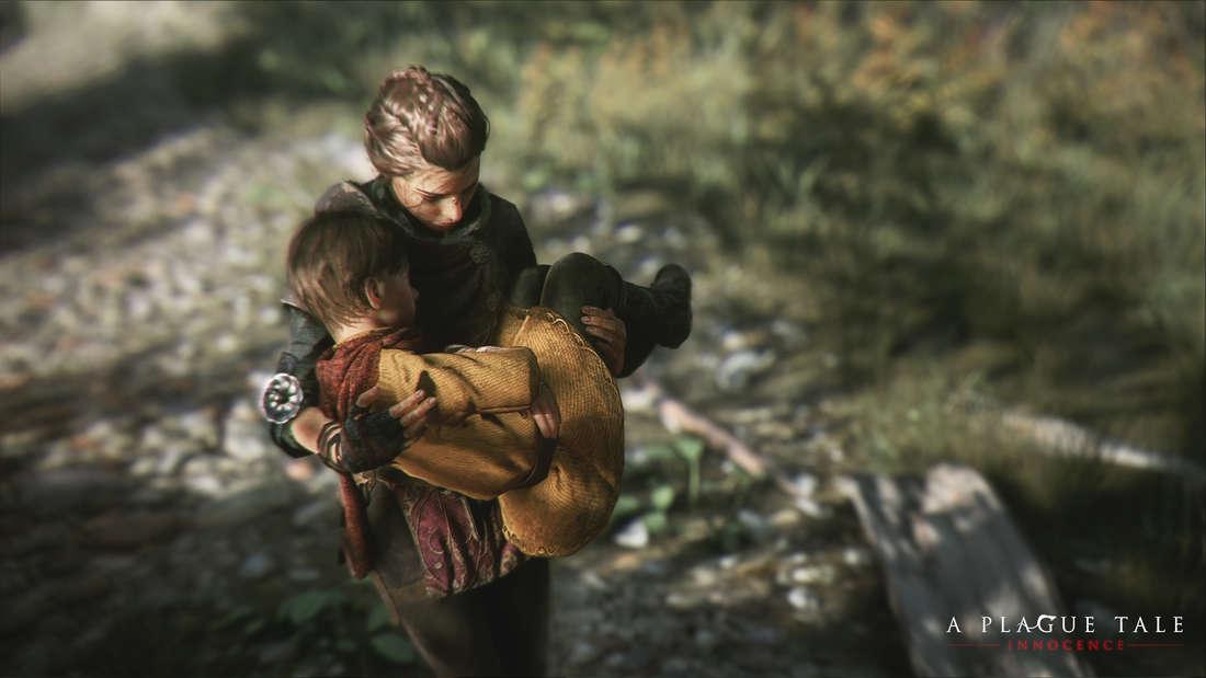 """""""A Plague Tale: Innocent"""" entführt die Spieler ins Frankreich des 14. Jahrhunderts und erzählt die Geschichte von Amicia und ihrem kleinen Bruder Hugo."""