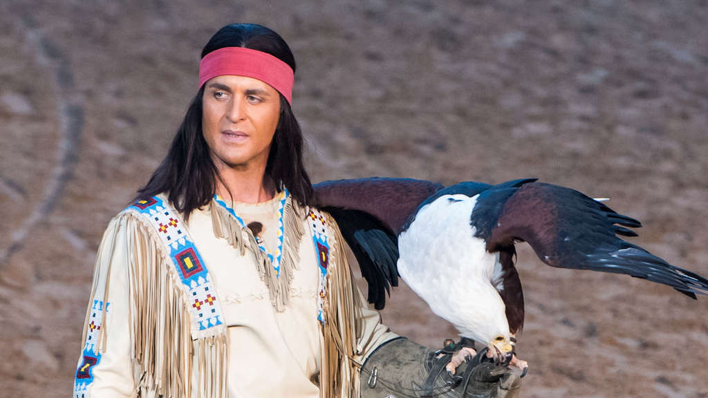 Alexander Klaws als Winnetou.