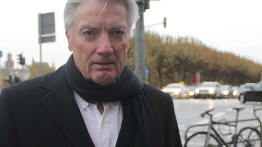 Herbert Schmoll will die Abschaffung der Sperrung fordert.
