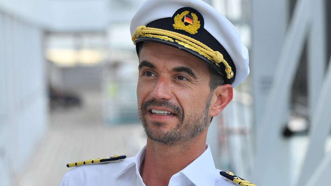 """Der neue """"Traumschiff""""-Kapitän Florian Silbereisen."""