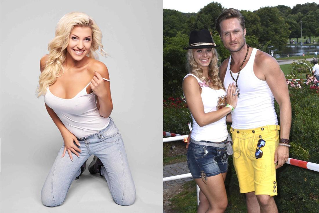 Waren auch schon im Playboy: Sarah Harrison (li.) und Saskia Atzerodt (mit Nico Schwanz).