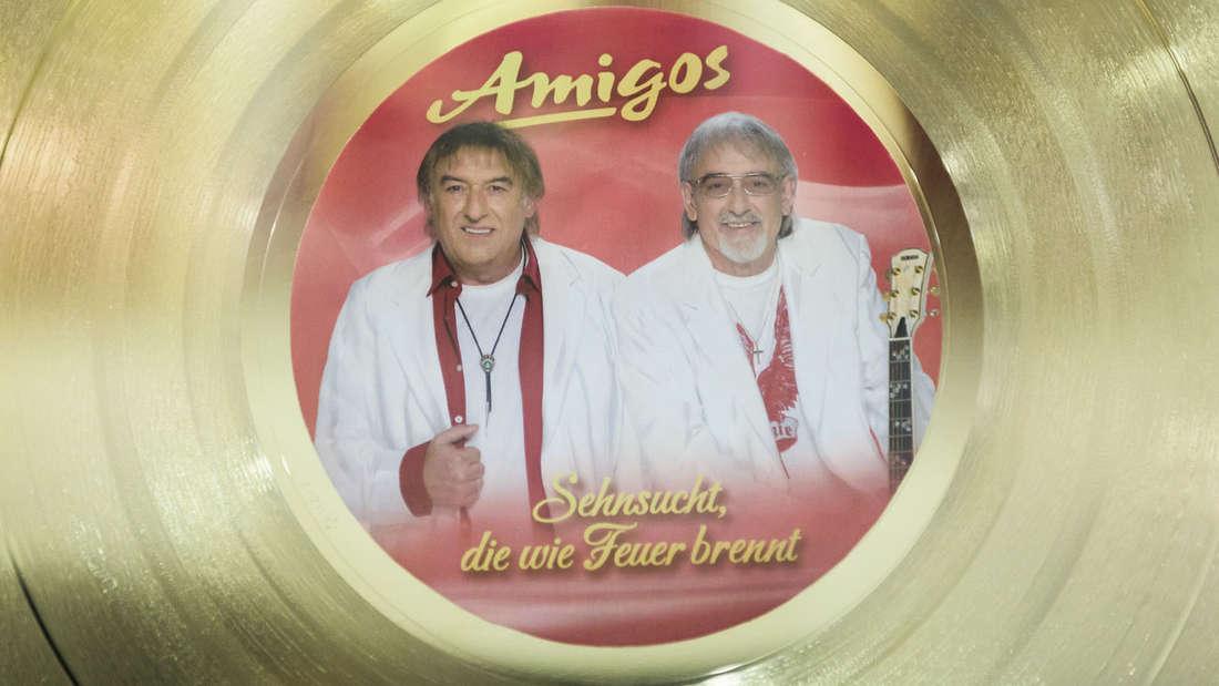 Goldene Schallplatten haben die Amigos am laufenden Band gesammelt.