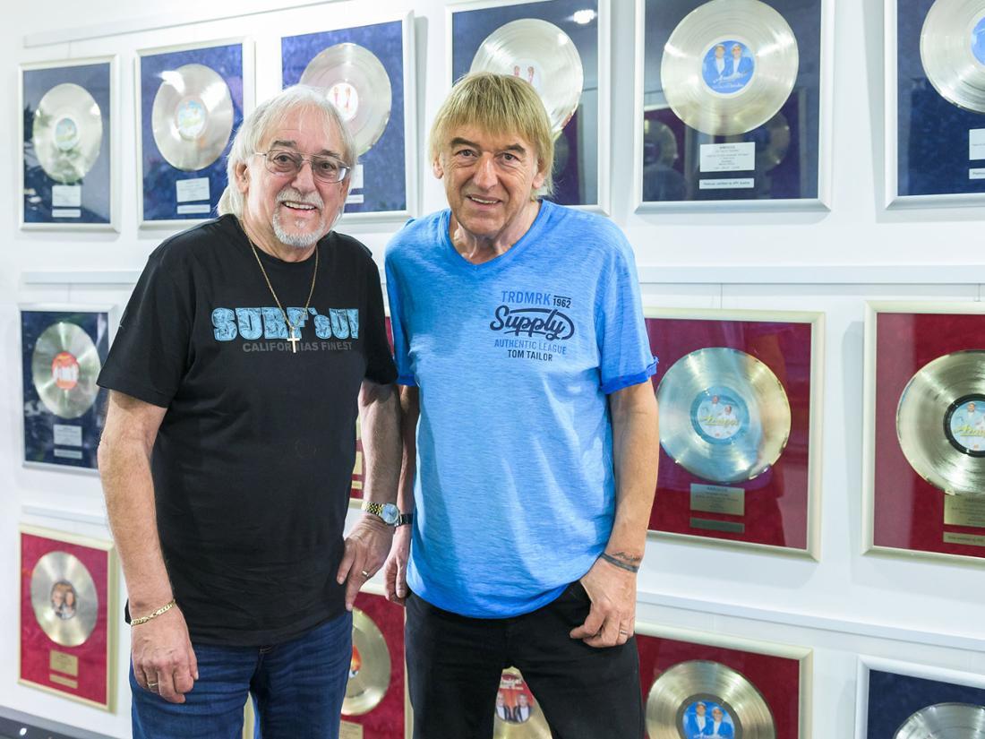 Knapp drei Millionen Platten haben die Amigos verkauft.
