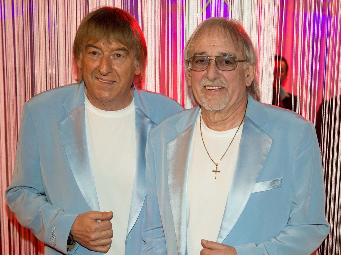 Die Amigos Bernd (links) und Karl-Heinz Ulrich.